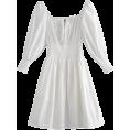 FECLOTHING Dresses -  Retro elastic waist collar dress
