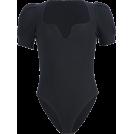 FECLOTHING Pajamas -  Retro solid color elastic top