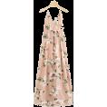 ARTbyJWP Dresses -  Romwe Floral Print Cross Back Dress