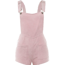 FECLOTHING Pajamas -  Sling open back short cropped trousers