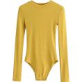 feclothing - Small round neck long sleeve pitted body - Pajamas - $25.99