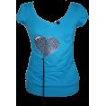 "Talya Design by Sonja Jug - ""Black heart5"" - T-shirts - 150,00kn  ~ $26.34"