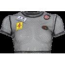 FECLOTHING Shirts -  Street style hipop dance mesh blouse T-s