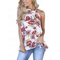 Sweetnight My look -  Sweetnight Women's Floral Printed Tank Tops Sleeveless Blouse Shrits LooseTanks