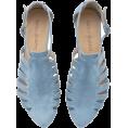HalfMoonRun Flats -  TAMARA SHALÉM shoes