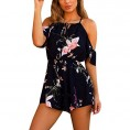 Topunder My look -  TOPUNDER Sexy Harem Jumpsuits Floral Cute Rompers Dress for Women Bodycon Maxi Romper