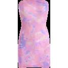 FECLOTHING Dresses -  Tie-dye carefully machine tube top dress