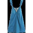 FECLOTHING Dresses -  Vintage Ruffled Backless Dress