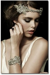 Vintage headpiece - Catwalk