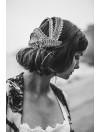 Vintage wedding details - Black tie