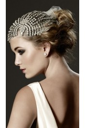 Vintage wedding headpiece - Catwalk