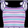 Wild Stripe Color Stripe Tight Slim Slin - TOP