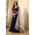 Likeadiva Dresses -  Zari Embroidered Anarkali Suit