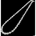 abiste - レースチェーンロングネックレス/シルバー - Jewelry - ¥8,400  ~ $85.46