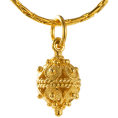 adriashinju - ドブロブニクのボタン ペンダントヘッド(14金)小 - Ogrlice - ¥23,000  ~ 1.332,52kn