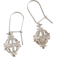 adriashinju - ドブロブニクのボタンイヤリング(シルバー)ゼムリャ /zem - Kolczyki - ¥12,000  ~ 92.19€