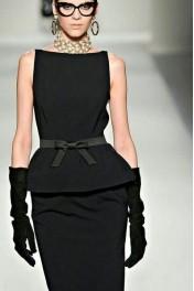 black dress - Catwalk