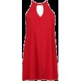 DotingSage Dresses -  boohoo Lorna Tie Neck CutOut Swing Dress