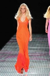dress, orange - Passarela