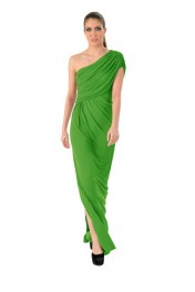 The Savannah Maxi Green - Catwalk