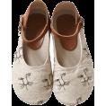 HalfMoonRun Flats -  little girl shoes