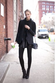 Black casual style