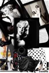 Crno-bijeli glamur elegancije
