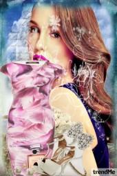 Pink-blue lady