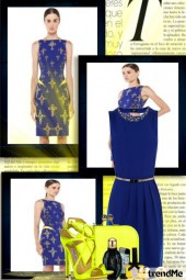 Yellow by Blue