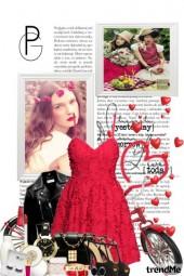 Red Dress Bike = Fun