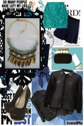 Set Collar Blue sea