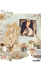 Thinking of someone <3