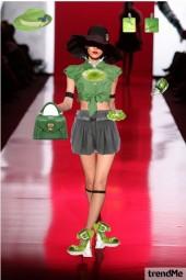 Verde ta na moda
