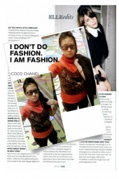 I DON'T DO FASHION I AM FASHION by COCO CHANEL