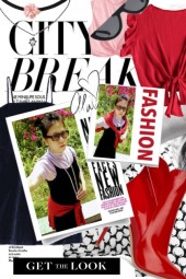 Summer Fashion City Red LOOK // Get THE Look