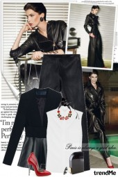 Fall trend: leather!