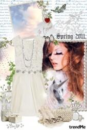 Spring 2011: All white!