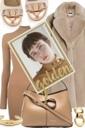 Golden to taupe beige