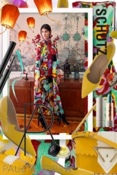 La DoubleJ Silk Dress, Schutz & Paul Andrew
