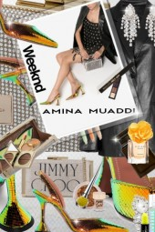 Amina Muaddi Weekend