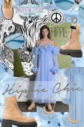 Sky Blue Hippie Chic