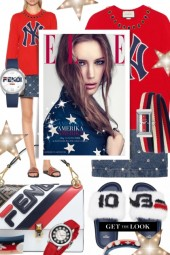 Fendi Stars and Stripes