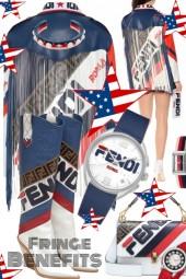 Fendi Fringe Jacket and Boots