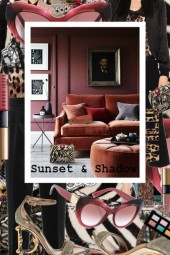 Sunset and Shadow, Leopard and Rust