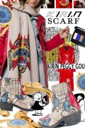 Kirin Peggy Gou Oversized Scarf Trend