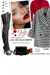 Over the Knee Boots: Work it!