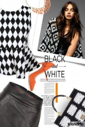 Black and White tonight
