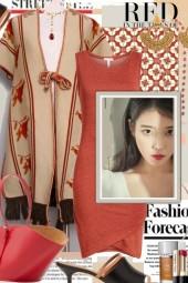 Red....Fashion Forecast