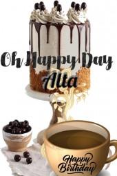 Happy Birthday Alta