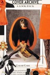Cover Archive in Orange & Black